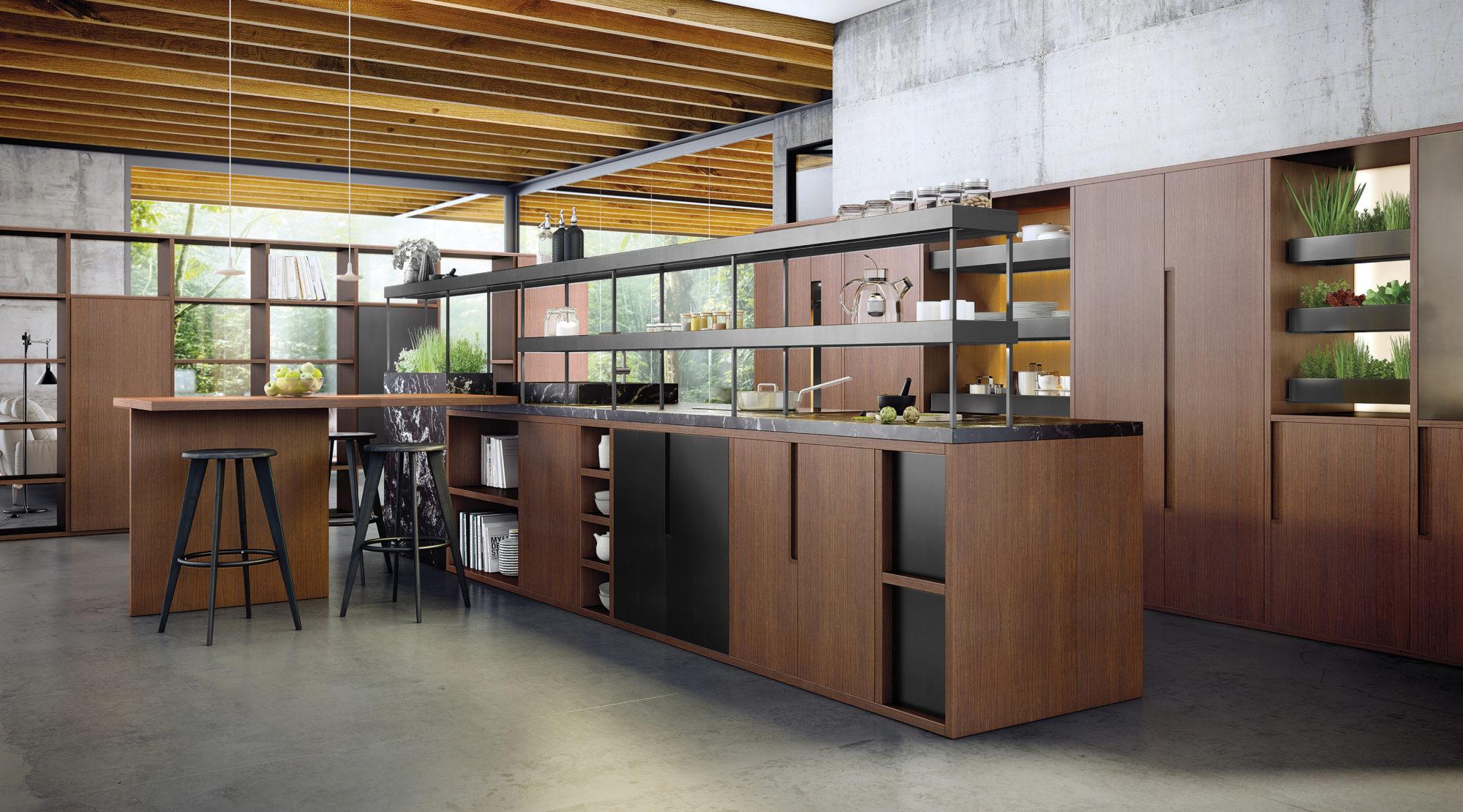 cocina profesional casa madera diseño cole02